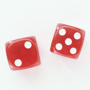 Shaved dice